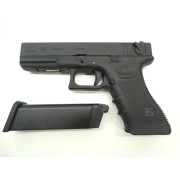WE - G18 gen. 4 Noir GBB Gaz Blow Back