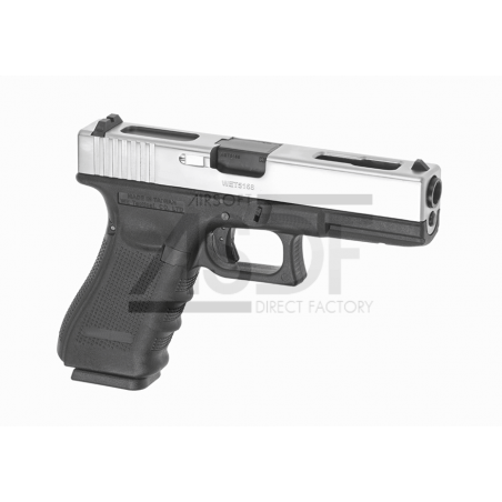 WE - WE18C Gen 4 Metal Version GBB Chrome