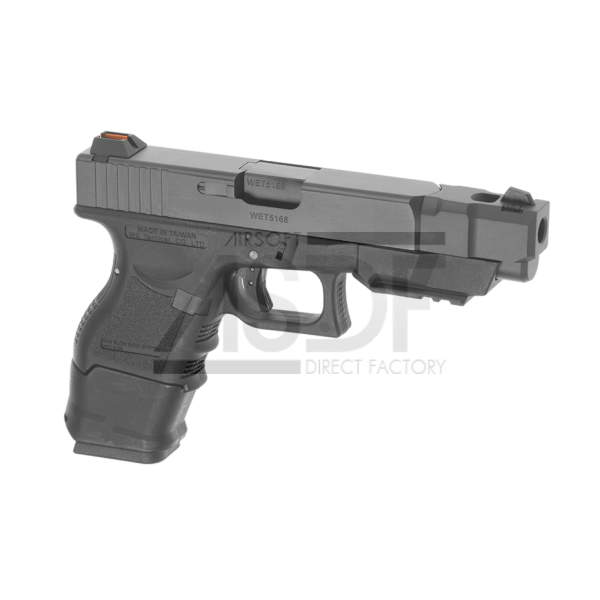 WE - WE33 Advanced Metal Version GBB Noir-16915