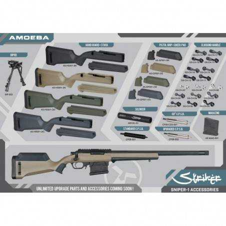 ARES- Amoeba Sniper STRIKER URBAN SNIPER Airsoft-18175