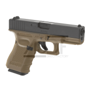 WE - G19 Gen.4 TAN GBB Gaz Blow Back