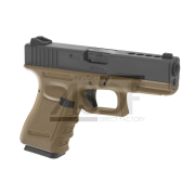 WE - G23 Gen. 3 TAN GBB Gaz Blow Back