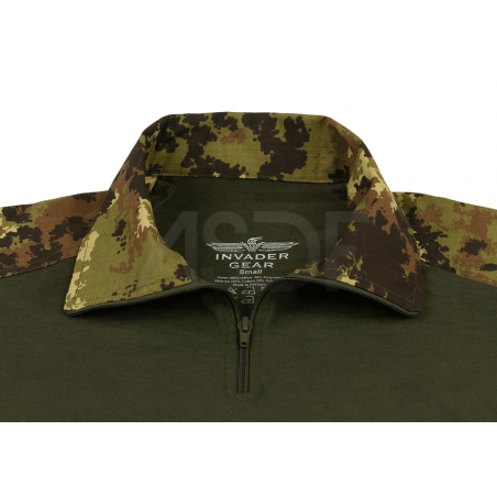 INVADER GEAR - Combat Shirt - Vegetato - Equipement militaire airsoft outdoor