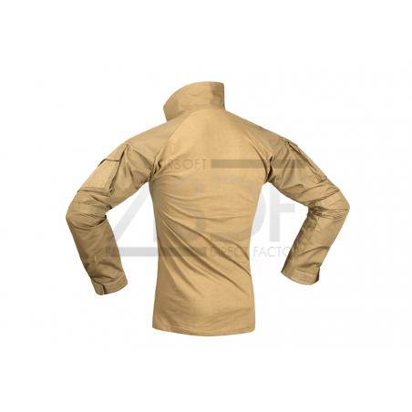 INVADER GEAR - Combat Shirt - Coyote - Equipement militaire outdoor