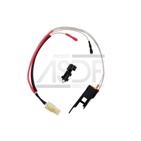 Element - Switch V3 AEG Cablage argent avant-2144