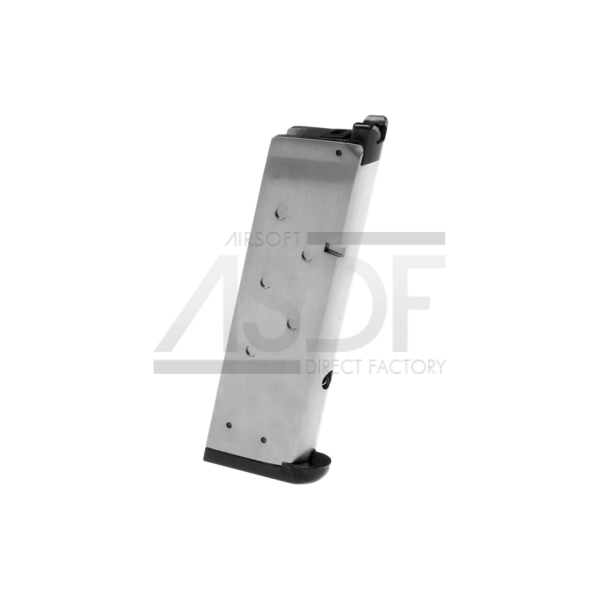 WE - Chargeur M1911 MEU GBB 15rds Silver-21884