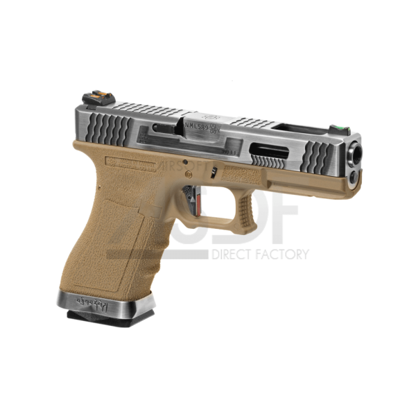 WE - Série G17 Custom Metal Version GBB TAN-24125
