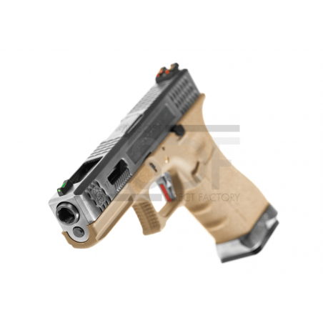 WE - Série G17 Custom Metal Version GBB TAN