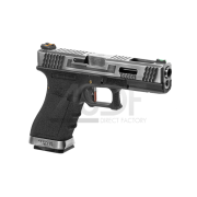 WE - Série G17 Custom Metal Version GBB DUAL TONE
