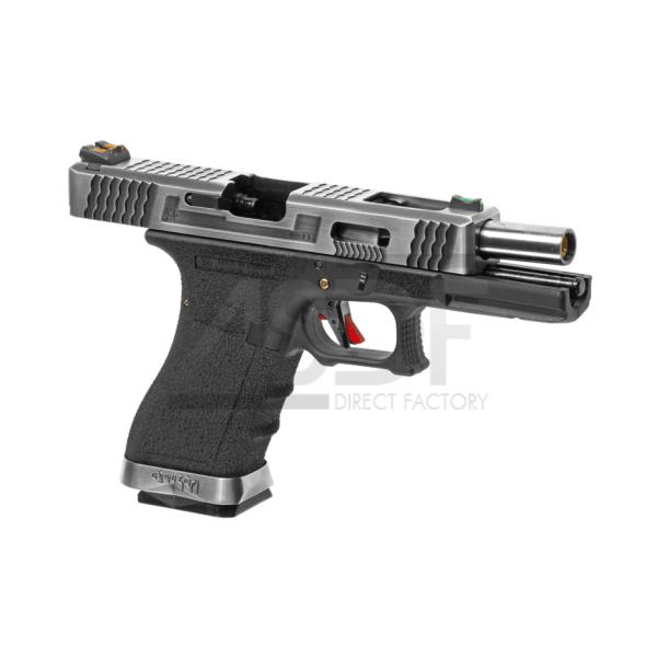 WE - Série G17 Custom Metal Version GBB TAN