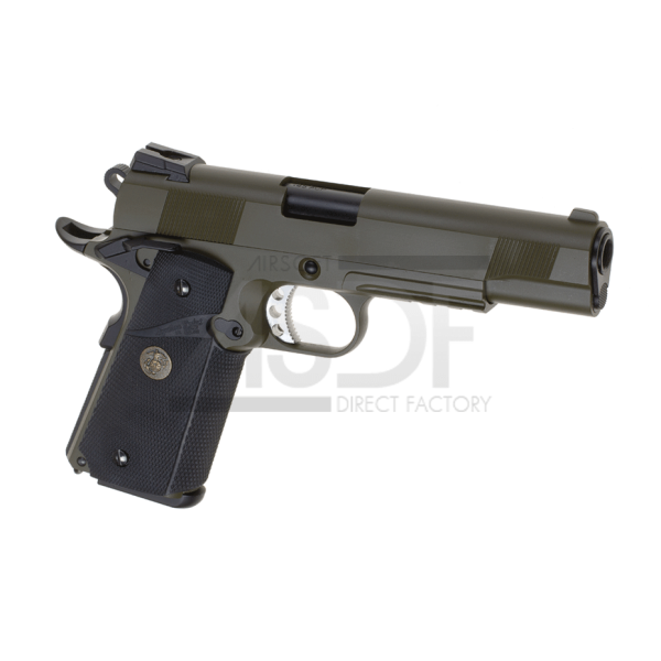 WE - M1911 MEU Tactical Full Metal GBB OD-24166