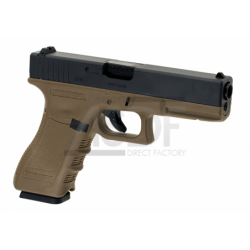 WE - G17 gen. 3 TAN GBB Gaz Blow Back