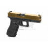 WE - G17 gen. 3 bicolore OR ET NOIR GBB Gaz Blow Back