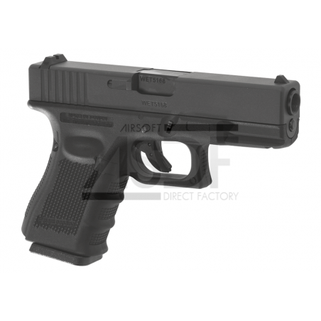 WE - G19 Gen.4 Noir GBB Gaz Blow Back-2454