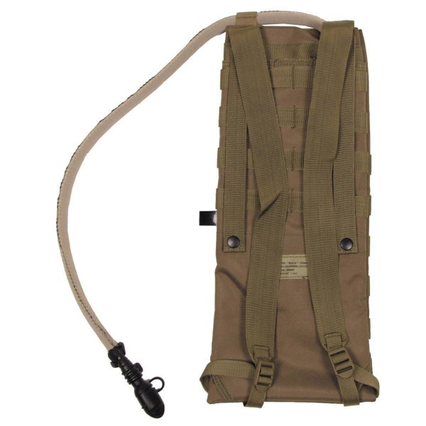 MFH - Sac Hydratation 2.5 L Molle Tan-24541