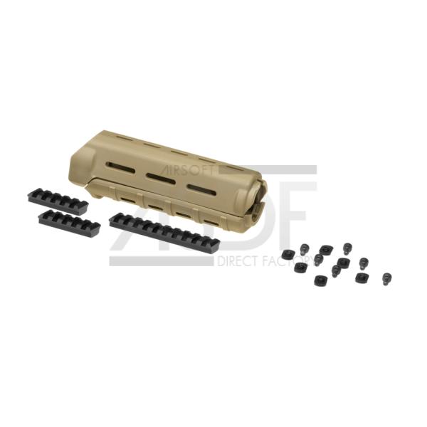 Element - MPOE 7 Inch Railed Handguard TAN-24623