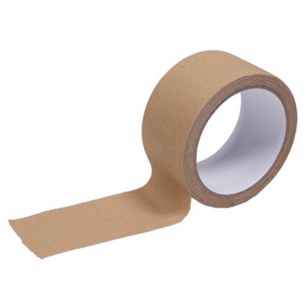 MFH - bande adhesive tissu, 5 cm x 10 m, beige-24877