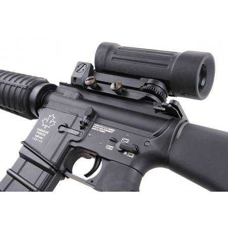 G&G - GC7 A1 Noir Pack Complet avec Elcan Specter x4, charg-2499