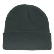 MFH - Bonnet maille fin Noir