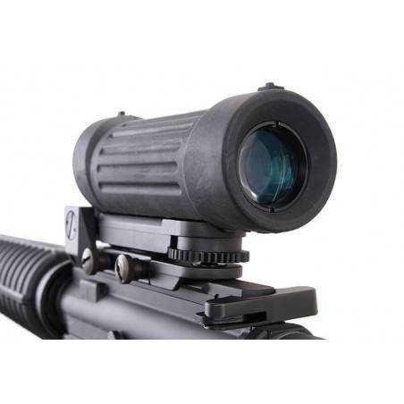 G&G - GC7 A1 Noir Pack Complet avec Elcan Specter x4, chargeur de batterie et batterie