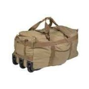 MIL-TEC -Sac Commando avec Roulette OD 118L
