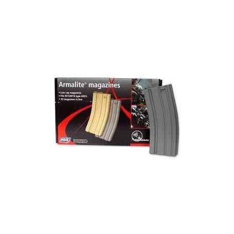 ASG - Chargeur m4 Mid cap 85 bbs Gris plastic