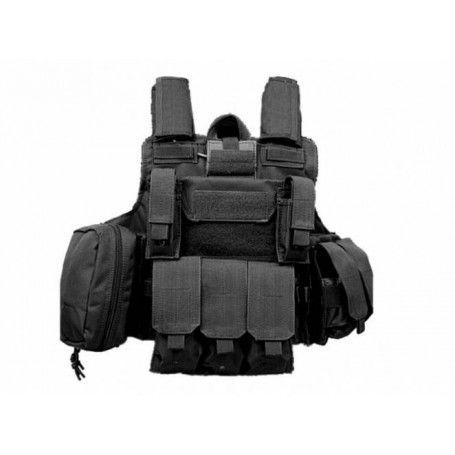 S&T - Gilet Ciras Combat Noir