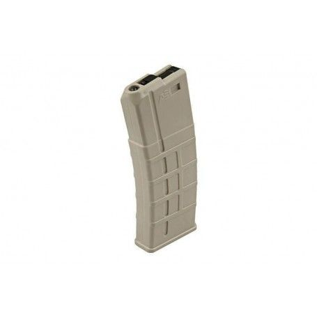 Airsoft Systems - Chargeur AEG Low cap 85rds TAN
