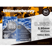 BLS - BILLE AIRSOFT 0.36GR BIODEGRADABLE 1000pcs