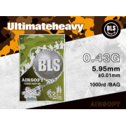 BLS - BILLE AIRSOFT 0.43GR BIODEGRADABLE 1000pcs