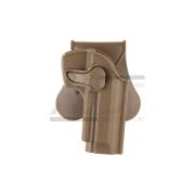 AMOMAX - HOLSTER RIGIDE M9/M92 TAN