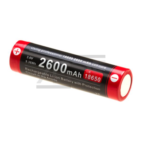 KLARUS - BATTERIE 18650 3.7V 2600MAH MICRO-USB-26799