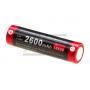 KLARUS - BATTERIE 18650 3.7V 2600MAH MICRO-USB