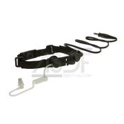 Ztactical - Laryngophone tactique Noir (Throat Mic)