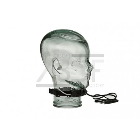 Ztactical - Laryngophone tactique Noir (Throat Mic)-2693