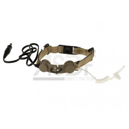 Ztactical - Laryngophone tactique TAN (Throat Mic)-2698