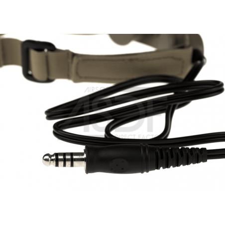 Ztactical - Larygophone tactique TAN (Throat Mic)