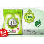 BLS - BILLE AIRSOFT 0.25GR BIODEGRADABLE