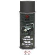 MFH - BOMBE DE PEINTURE ARMEE, OTAN VERT, MAT, 400 ml