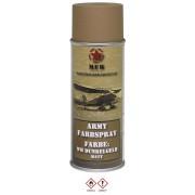 MFH - BOMBE DE PEINTURE ARMEE, WH JAUNE FONCE, MAT, 400 ml