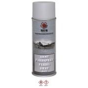 MFH - BOMBE DE PEINTURE ARMEE, GRIS, MAT, 400 ml
