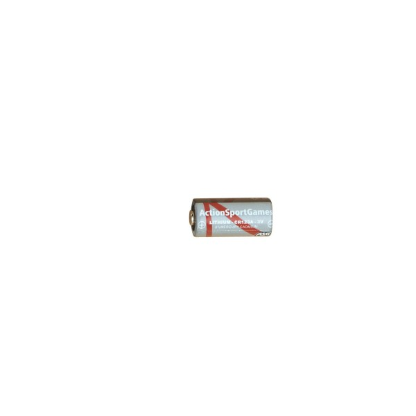 ASG - PILE LITHIUM CR123 3V-27161