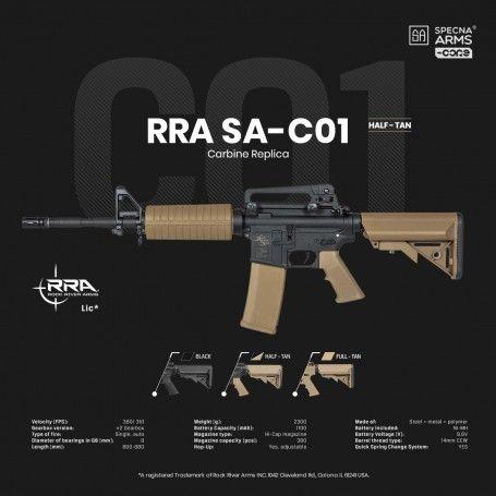 SPECNA ARMS - M4 AEG SA-C01 TAN CORE-29287
