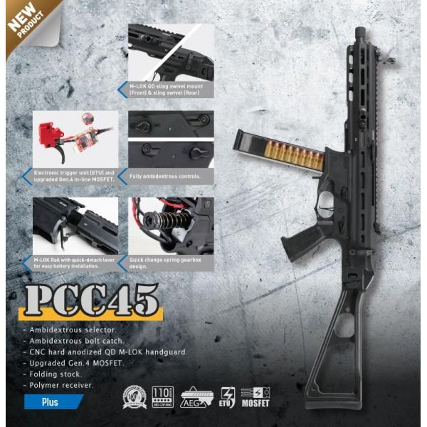 G&G - PCC45 REPLIQUE AIRSOFT AEG