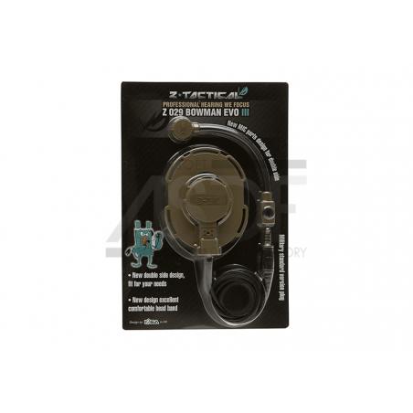 ZTactical - Headset Bowman EVO III TAN